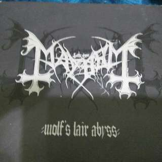 MAYHEM WOLF'S LAIR ABYSS BLACK METAL ORIGINAL CD