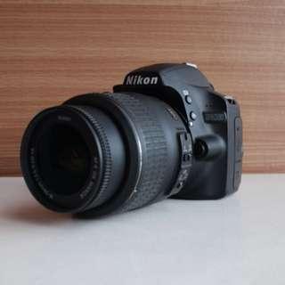 Nikon D3200 + 18-55mm kit lens