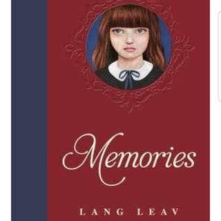 Memories - Hard Cover