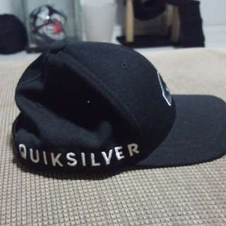 Authentic quicksilver cap