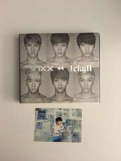 VIXX JEKYLL Album + Leo pc