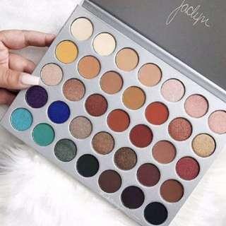 💄 Inspired Morphe Jaclyn Hill 35 Shades Eyeshadow Palette