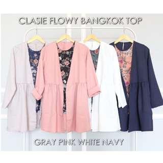 NEW Classic Flowy Bangkok top