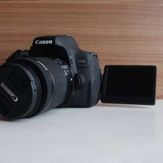 Canon EOS 750D + 18-55mm STM KIT LENS