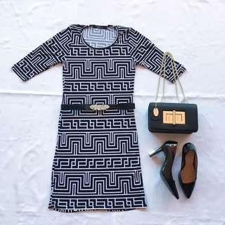 FOLDED&HUNG Office Dress
