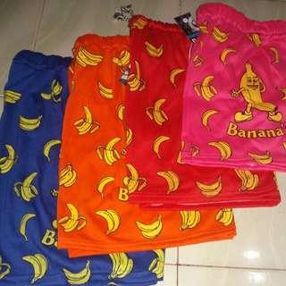 Celana anak motif pisang