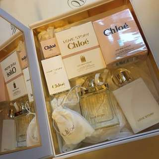 Chloe Fragrance Set (8 items) Love Story Perfume愛情故事香水淡香水