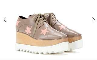 Stella Mccartney Star Print Platform Shoes