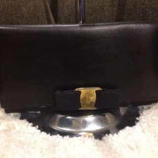 Authentic Ferragamo long wallet