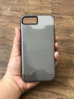 iPhone 7+ / 8+ Hard Case with Card Holder