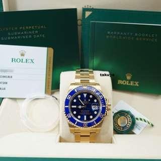 116618LB Rolex Submariner Full Set