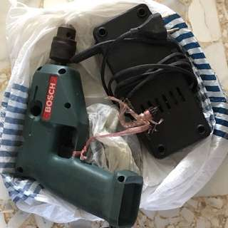 Bosch Electric Drill With Charger
