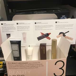 Mecca Beauty loop level 3 Box New korres chantecaille hourglass stila