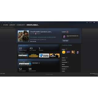 Steam Account (Does not have any bans)