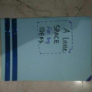 Buku catatan jahit .