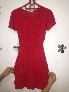 Dress mini red