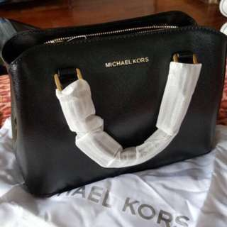 Michael Kors Savannah Saffiano Leather Satchel