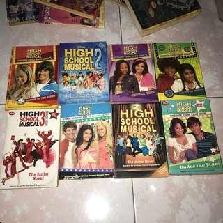 HIGH SCHOOL MUSICAL POCKET BOOKS