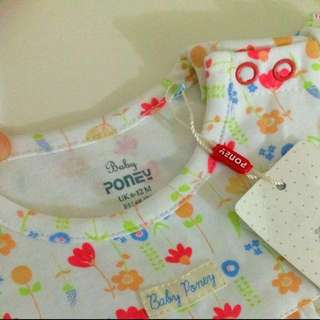 Poney Soft Material Rompers