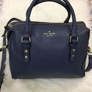 Authentic New Kate Spade Julianne Mulberry Street Diver Blue