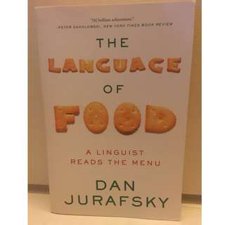 [USED] The Language of Food by Dan Jurafsky