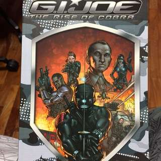 GI Joe Rise Of Cobra movie adaption TPB