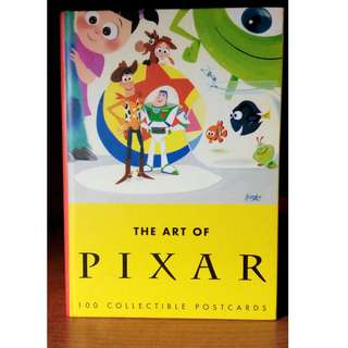 迪士尼 皮克斯 20週年紀念明信片 100張 套組