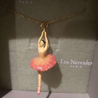 Les nereides 芭蕾女伶項鍊