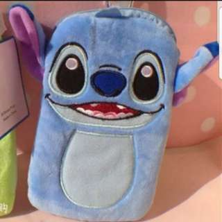 In stock stitch and lilo pouch with pass case and zip compartment size is 17 × 11cm