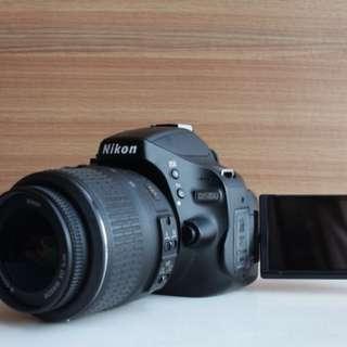 Nikon D5100 + 18-55mm kit lens