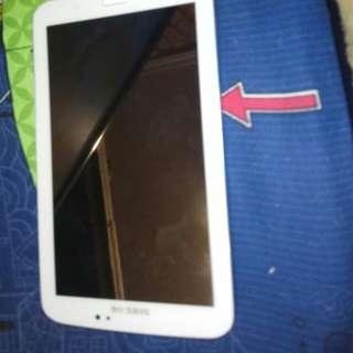 Samsung Galaxy tab3 加多一個插頭同埋個手機套 加多一個尿袋和線