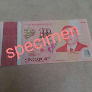 Limited Edition SG50 Note