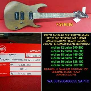 Gitar Ibanez 7 string bisa cicil tanpa dp