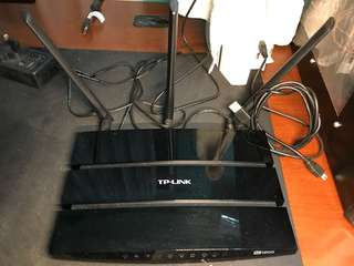 Wireless Dual Band TP Link Ac1200 Router