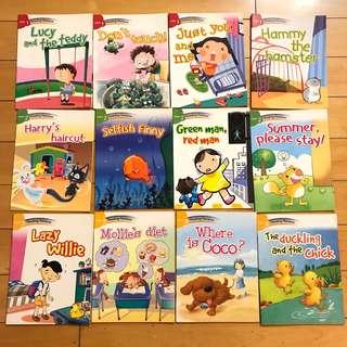 Reading Rainbow 12 books+3 CD
