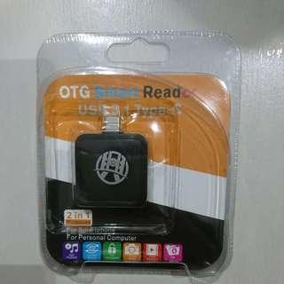 Type C OTG smart reader