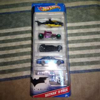 Hot Wheels Batman 5-pack 2011
