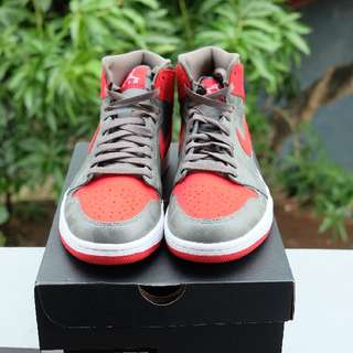 *New Air Jordan 1 Camo River Rock Red