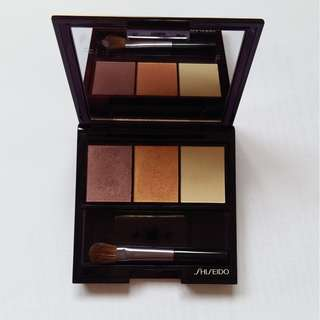 Shiseido Luminizing satin eye color trio RD 299