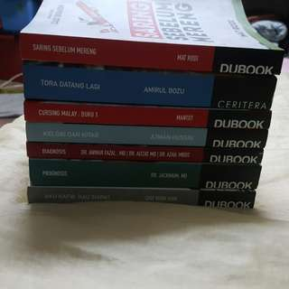 Malay non fiction books (Buku Melayu Bukan Fiksi) Dubook