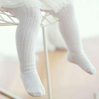 🐰Instock - baby white legging, baby infant toddler girl children sweet kid happy