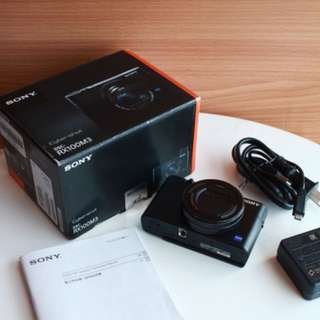 Sony Rx100 mark iii rx100m3