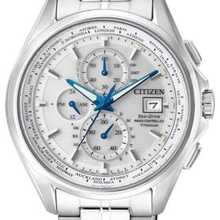 全新Citizen Eco-Drive 電波時計 AT8130-56A