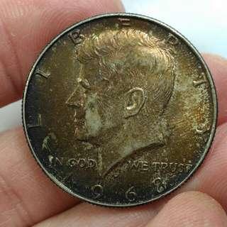 美國甘迺迪銀幣