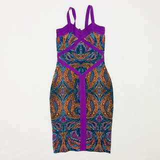 Bodycon Bandage Evening Maxi Dress (prints)