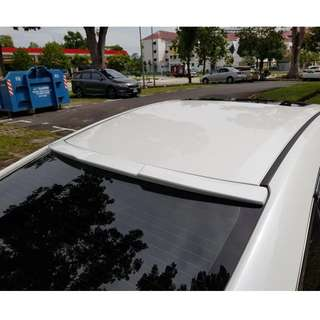 Brand New White Honda Civic 10 Tailwing