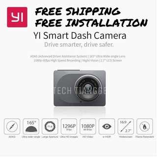 Xiaomi Yi Dashcam + FREE INSTALLATION + FREE SHIPPING