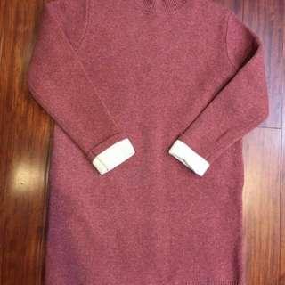 🚚 韓國EAL 長版針織上衣 毛衣 洋裝