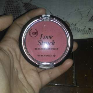 J cat blusher and bronzer