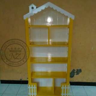 Rak Buku Anak Minimalis Model Rumah